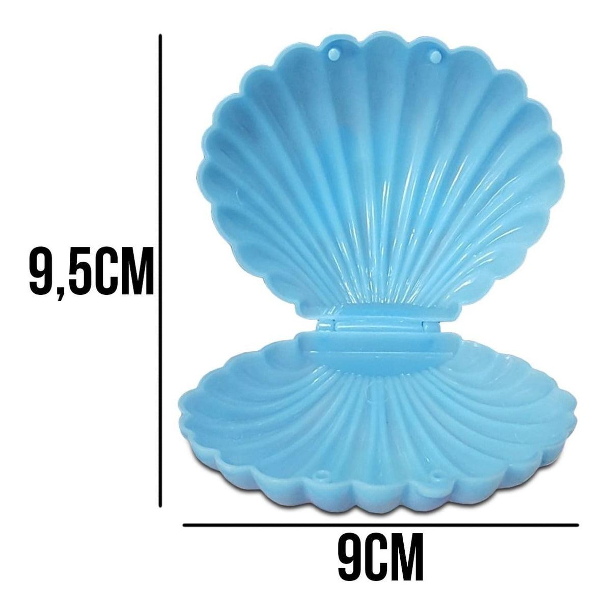 20 Concha Caixinha Plástico Lembrancinha Festa
