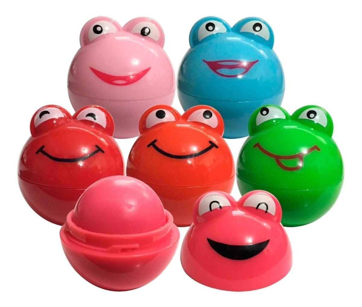 6 Lip Balm Hidratante Protetor Labial Bfashion Sapinho