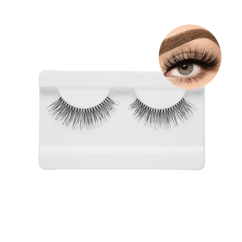 Cílios postiços Eyelashes caixa com 10 pares