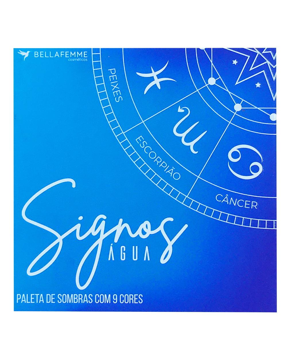 SOMBRAS SIGNOS ÁGUA BOX C/ 12 PÇS