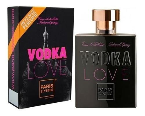 Vodka Love Paris Elysees 100 Ml-original