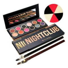Kit Paleta Sombra Night Club Premium Collection Bella Femme