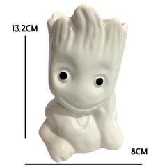 Vaso Groot Porta Treco Suculenta Enfeite Porcelana 8cmx7cm