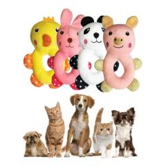 4 Brinquedo Qualidade Durabilidade Cães Pet Bichinhos Fofos