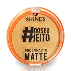 4 Pó Compacto Matte Shine Colours Promoção