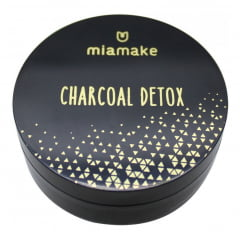 3 Esfoliante Detox Charcoal Carvao Ativado Mia Make 40g