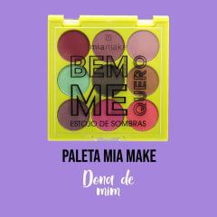 Estojo De Sombra Dona De Mim Mia Make 9 Cores Pigmentadas