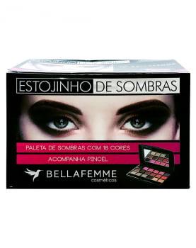 PALETA SOMBRA NUDE BELLA FEMME  BOX 12 UN