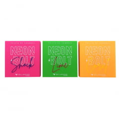Paletas de Sombras Neon Bolt Box C/ 15 Peças