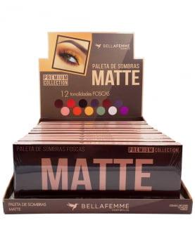 SOMBRA MATTE BOX C/ 12 PÇS