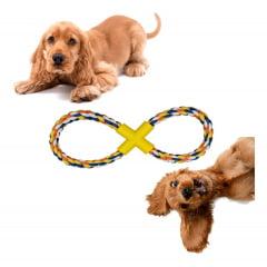 3 Mordedor Pet Cães Corda De Alta Qualidade Modelo Sortido