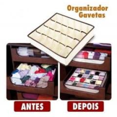 Organizador Multiuso para roupas íntimas e acessórios (36cmX28cmX10cm)