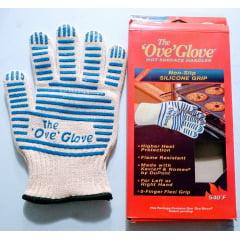 4 Luva De Alta Temperatura Ove Glove Cozinha Multiuso