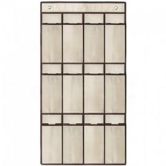 Organizador de Sapatos para Porta com 12 divisórias Tamanho 45 cm X 85 cm