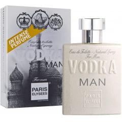 Perfume Masculino Vodka Man-Paris Elysees 100ml Edtml Edt