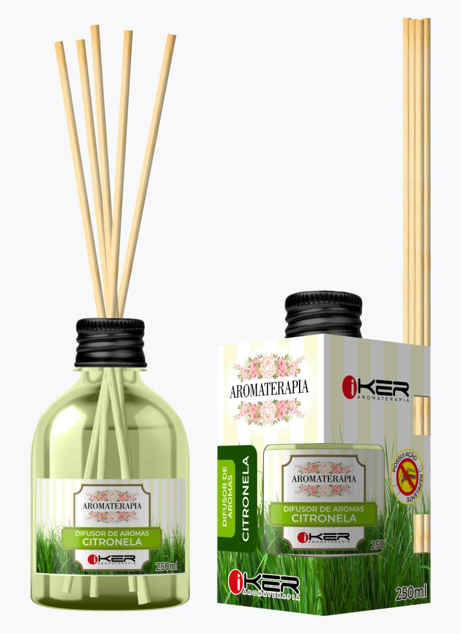 Difusor Aromatizador Ambiente Original Aromaterapia Citronela