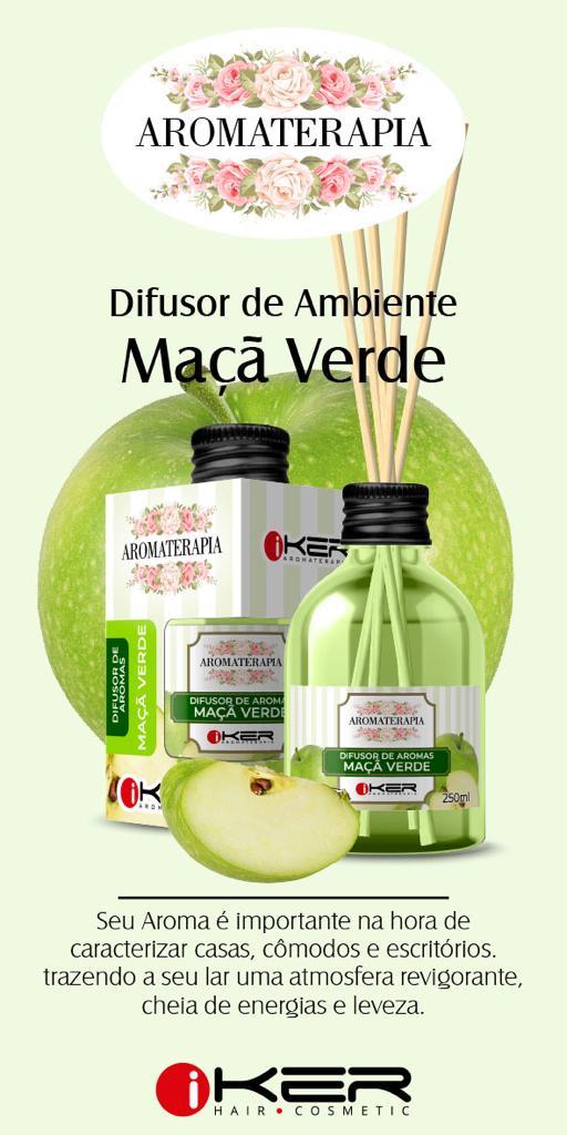 Difusor Aromatizador Ambiente Original Aromaterapia Maça Verde